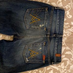 Seven jeans, like new size 25 x 32